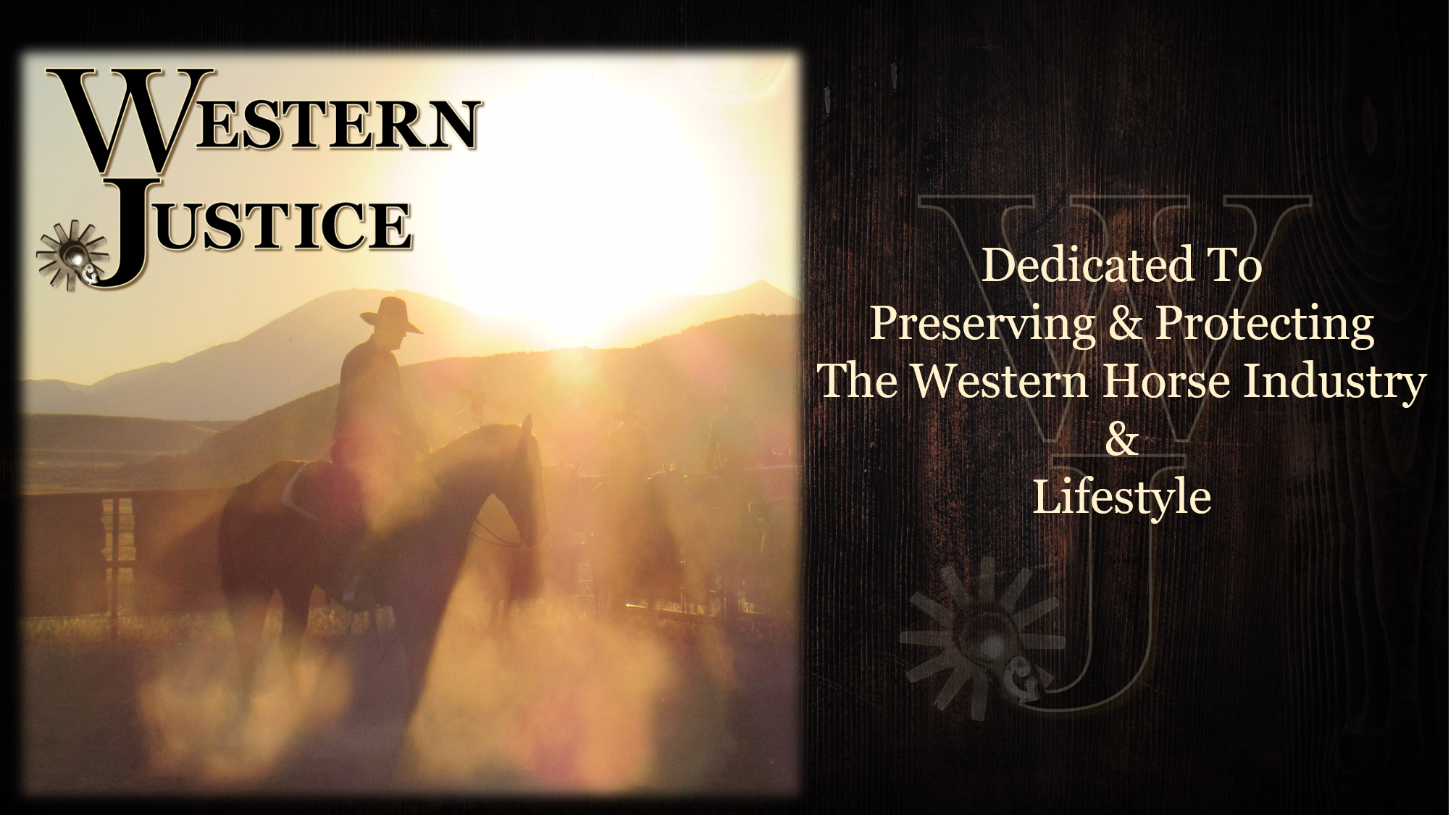 Western Justice | Become A Member
