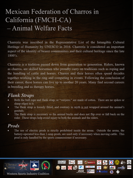 Mexican Federation Charros Animal Welfare Facts