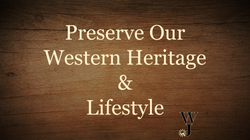 WJ Perserve our Western Lifestyle