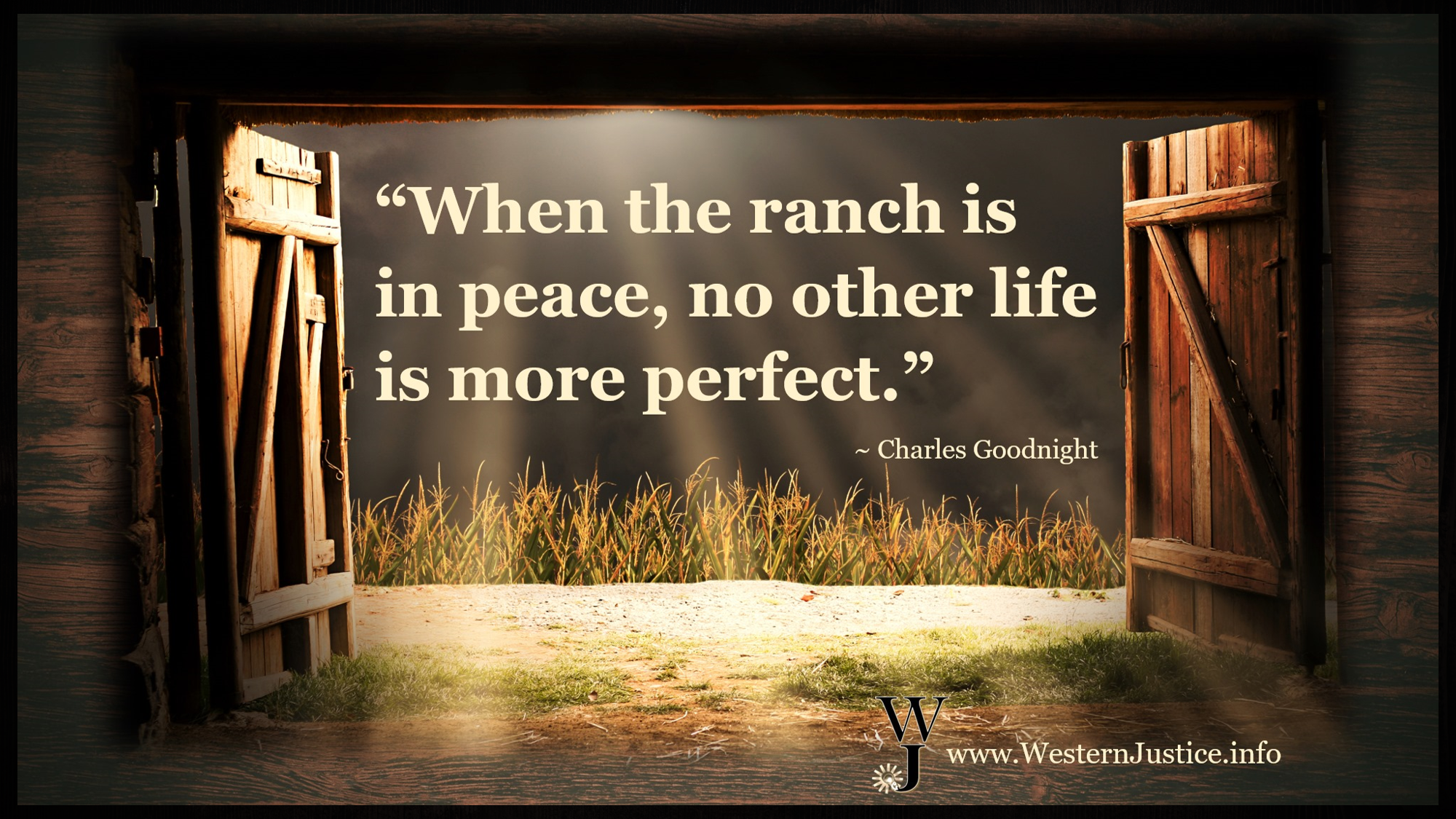 When The Ranch Is at Peace