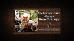 My heros have always Been Cowboys Graphi