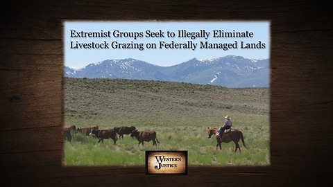 Grazing Rights On Federally Managed Lands