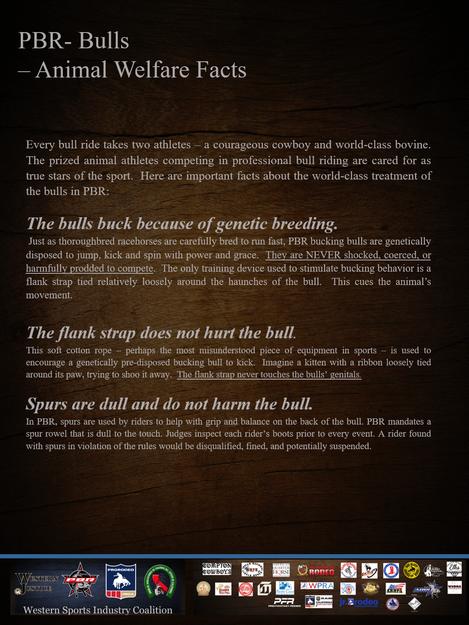 Animal Welfare Facts~PBR Bulls