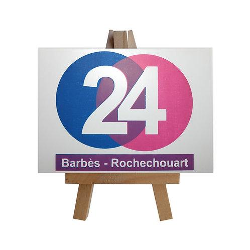 24, Barbès