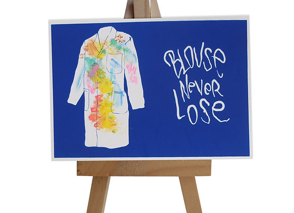 Blouse never lose