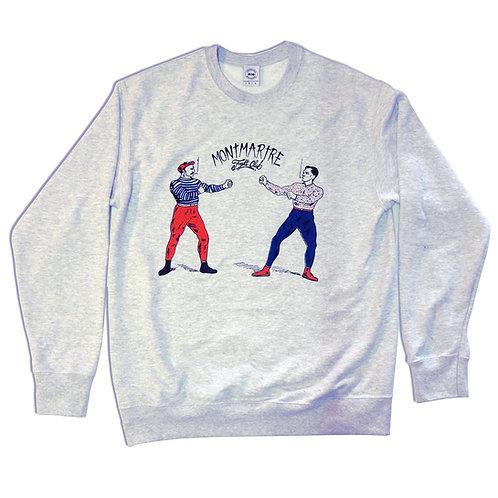 Sweat shirt Montmartre fight club