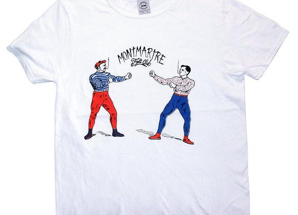 Tee shirt Montmartre Fight Club