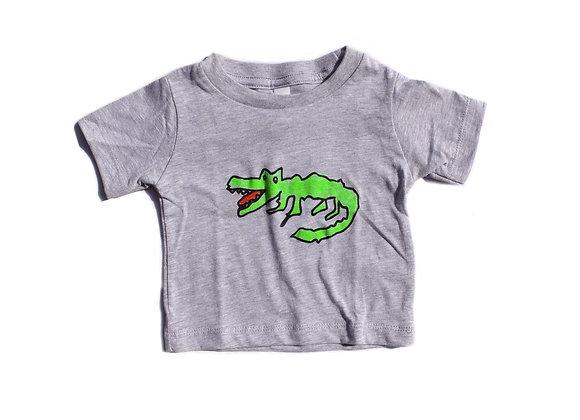 Tee shirt enfant crocodile
