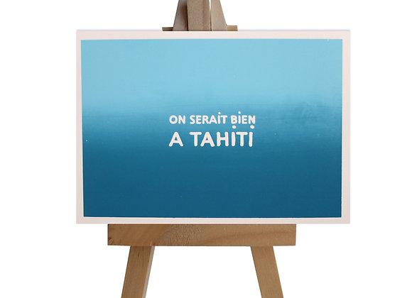 Tahiti…