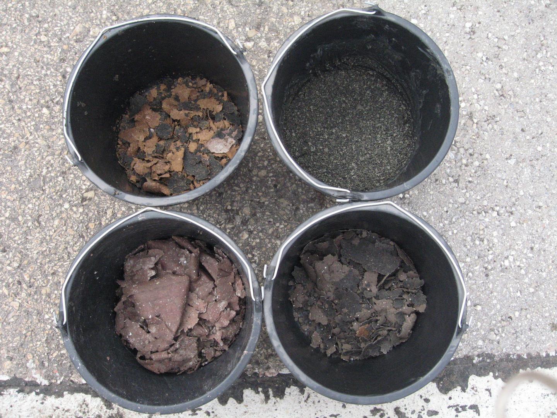 4 Different Organic Sludge: 50-60%ds