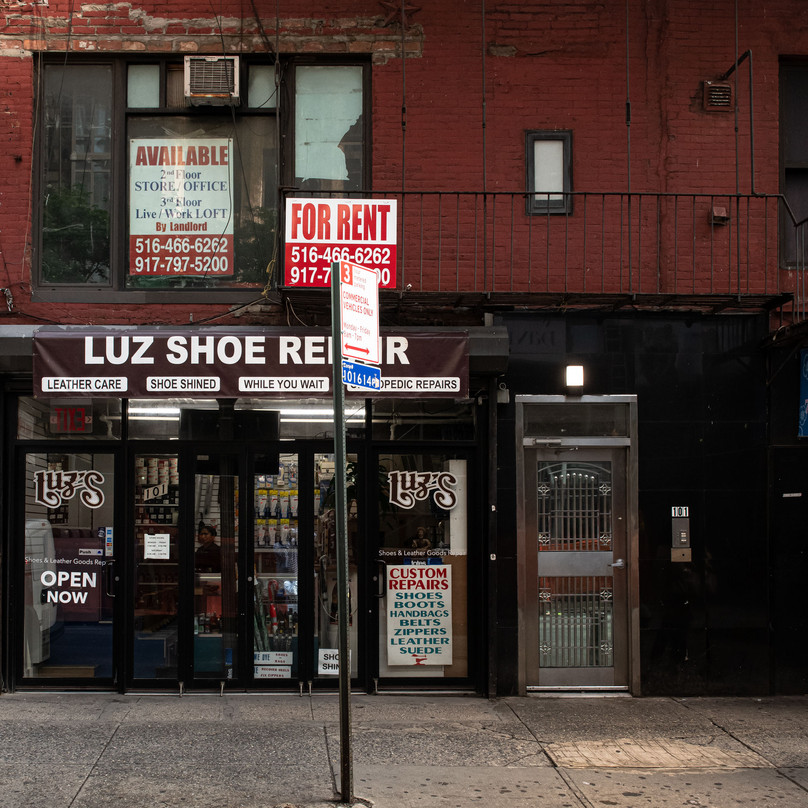 LUZ SHOE REPAIR New York Intimate Limited Edition Photography