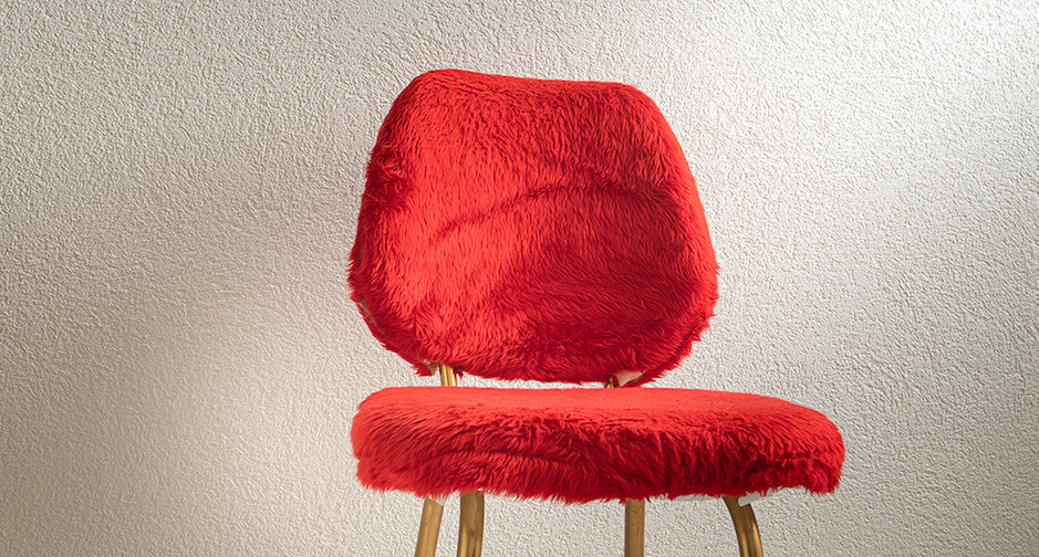 HM Chaise rouge