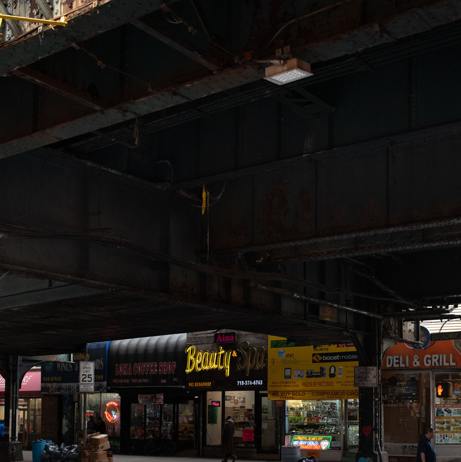 BEAUTY UNDER BRIDGE New York Intimate Limited Edition Photography