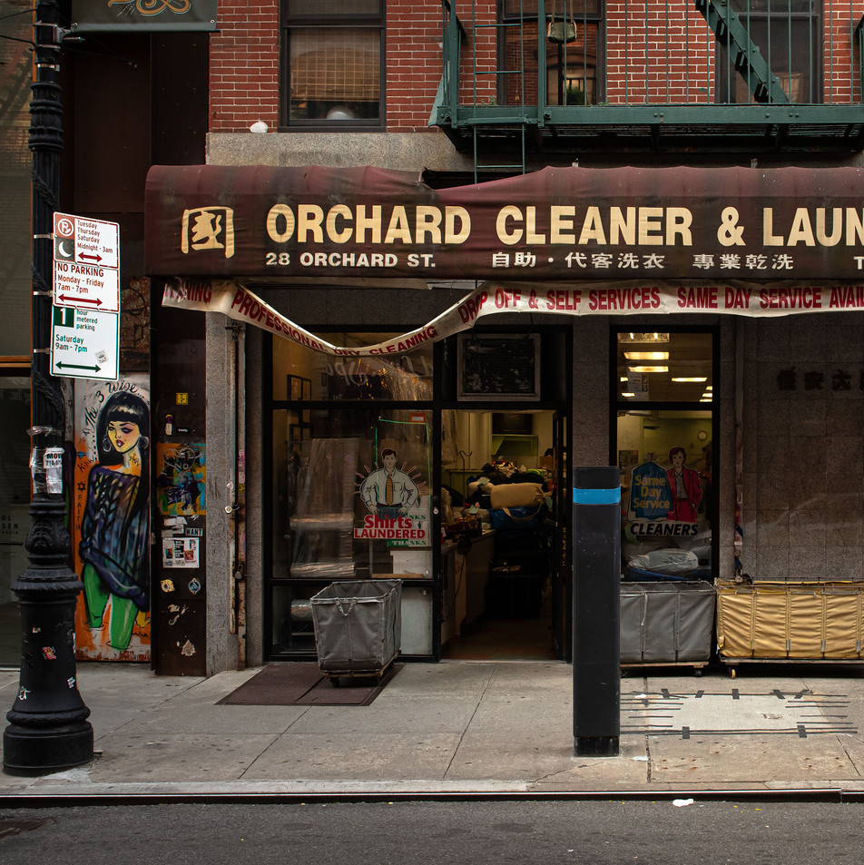 ORCHARD CLEANER New York Intimate Limited Edition Photography