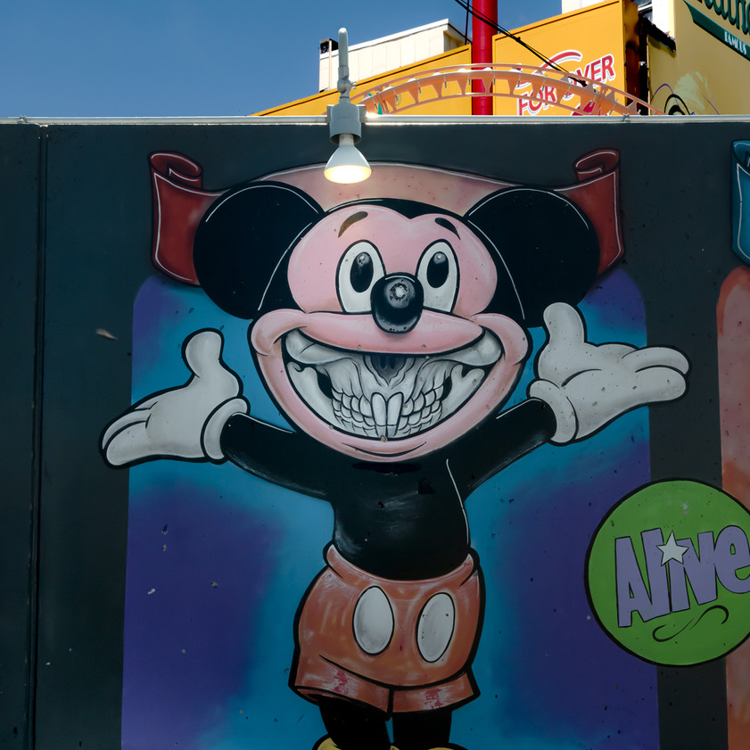 Mouse in Coney Island