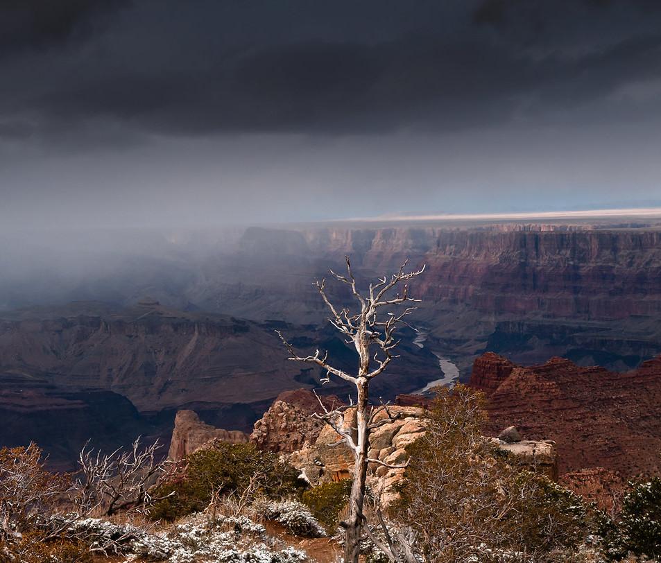 Tusaian Point  Grand Canyon Arizona