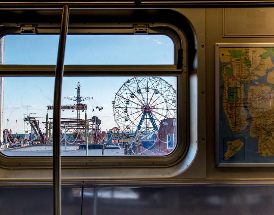 Line F to Coney Island