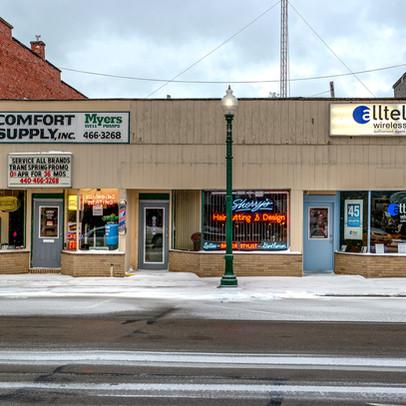 Main Street Painseville - Ohio