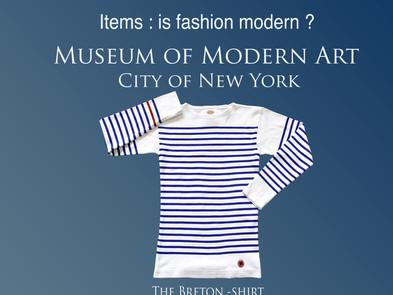 Breton shirt MoMA Limited Edition