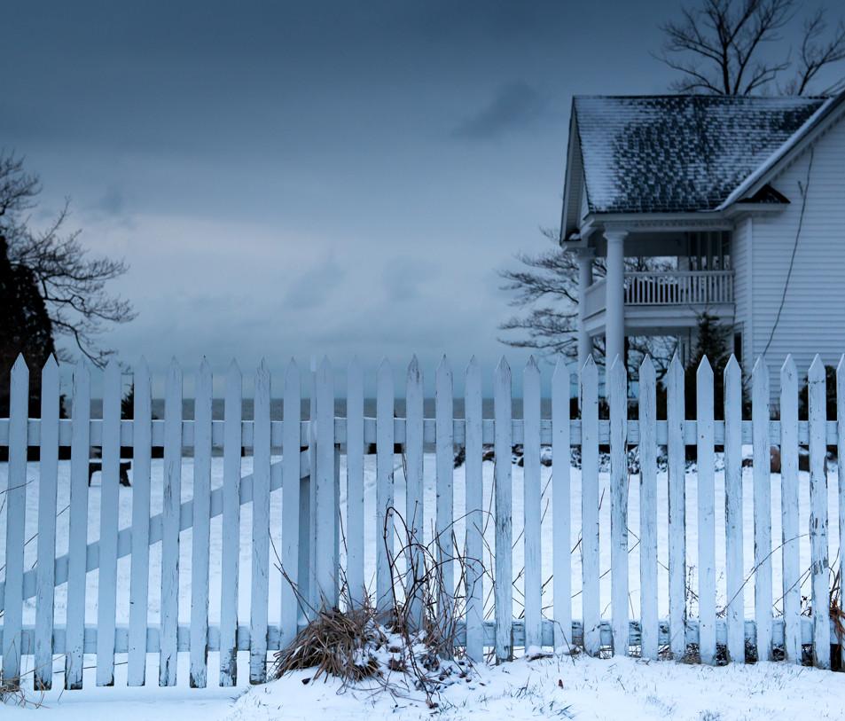 White Fence Geneva on the Lake Ohio