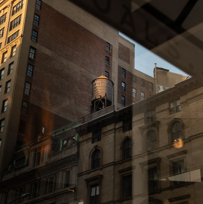 WATER TANK ON A ROOF New York Intimate Limited Edition Photography