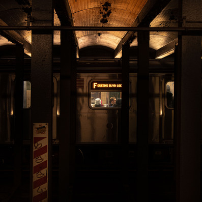LINE F QUEENS BLVD New York Intimate Limited Edition Photography