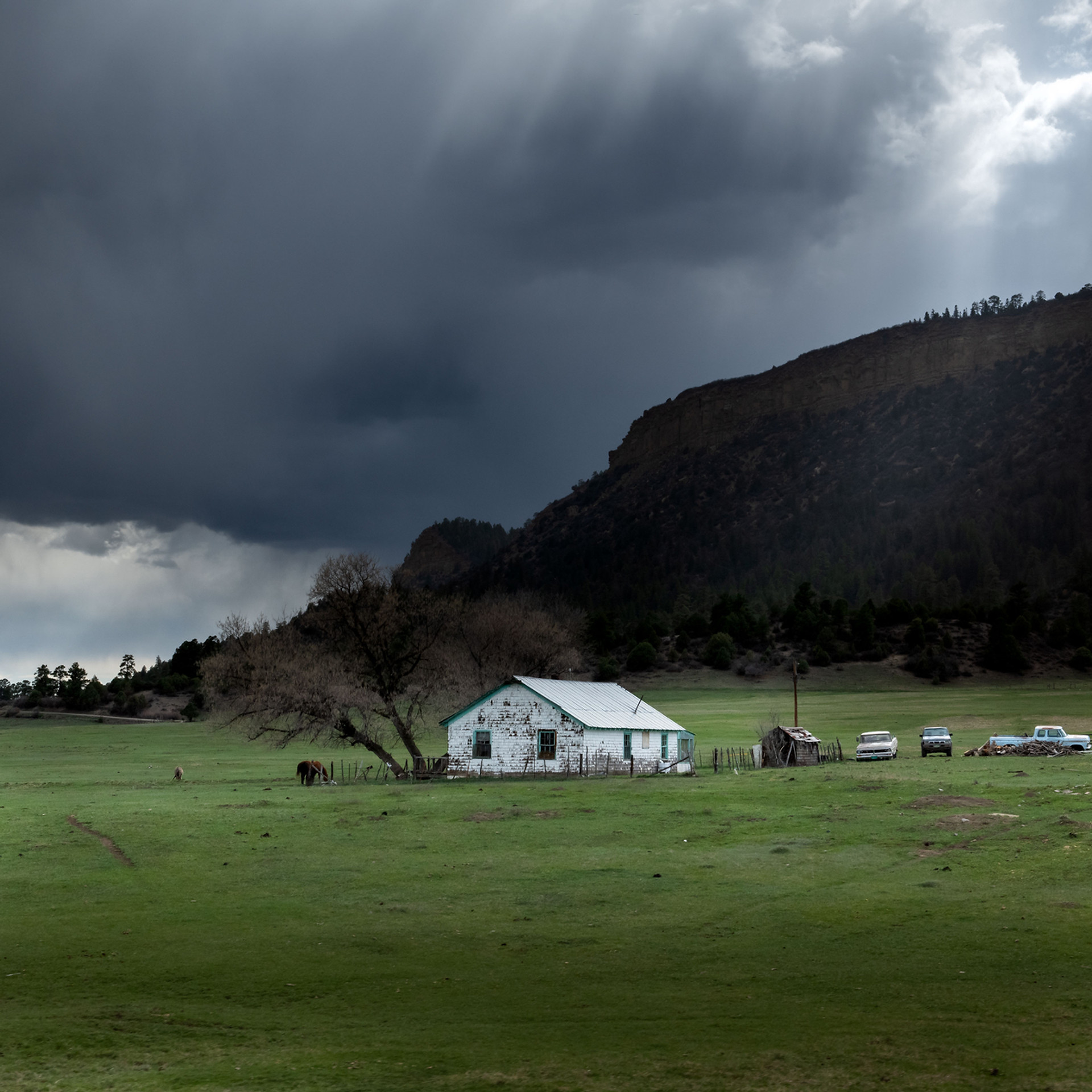 White House in Wyoming