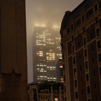 EMPIRE IN SMOG New York Intimate Limited Edition Photography