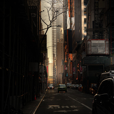 LIBRARY STREET New York Intimate Limited Edition Photography