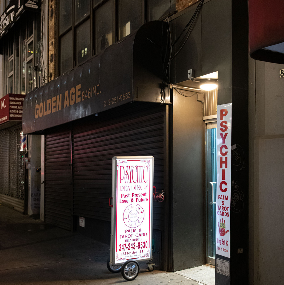 PSYCHIC GOLDEN AGE New York Intimate Limited Edition Photography