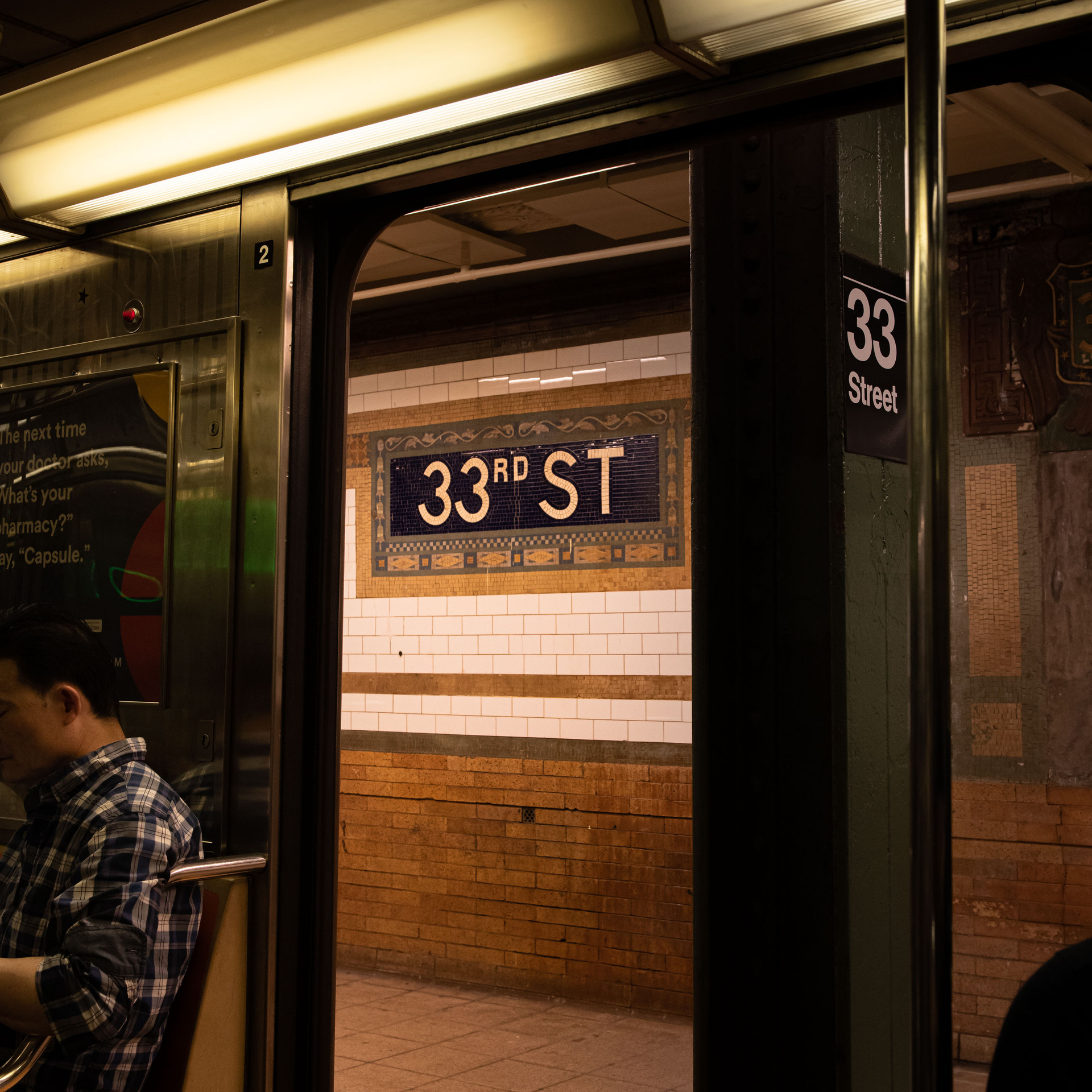 33rd  ST STATION New York Intimate Limited Edition Photography