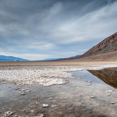 Bad Water Death Valley NP California