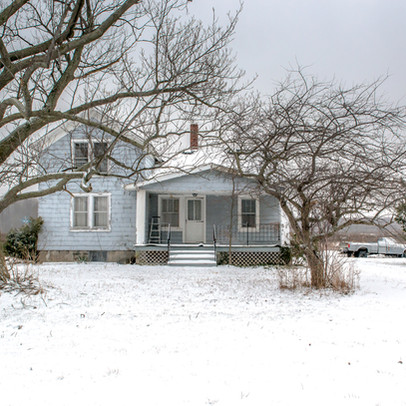Blue House Lake Erie Ohio