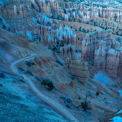 Sunshine Point Bryce Canyon NP Utah