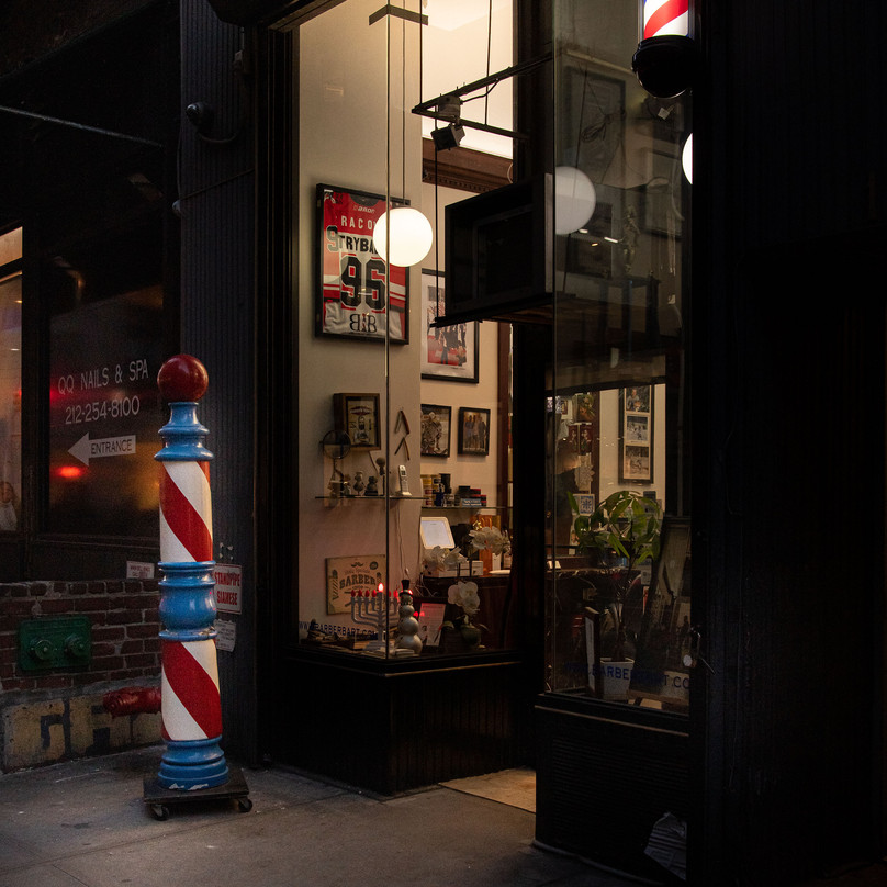 HANUKKA IN BARBER SHOP New York Intimate Limited Edition Photography