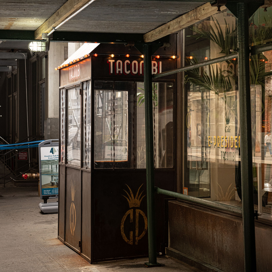 THE TACOMBI BAR New York Intimate Limited Edition Photography