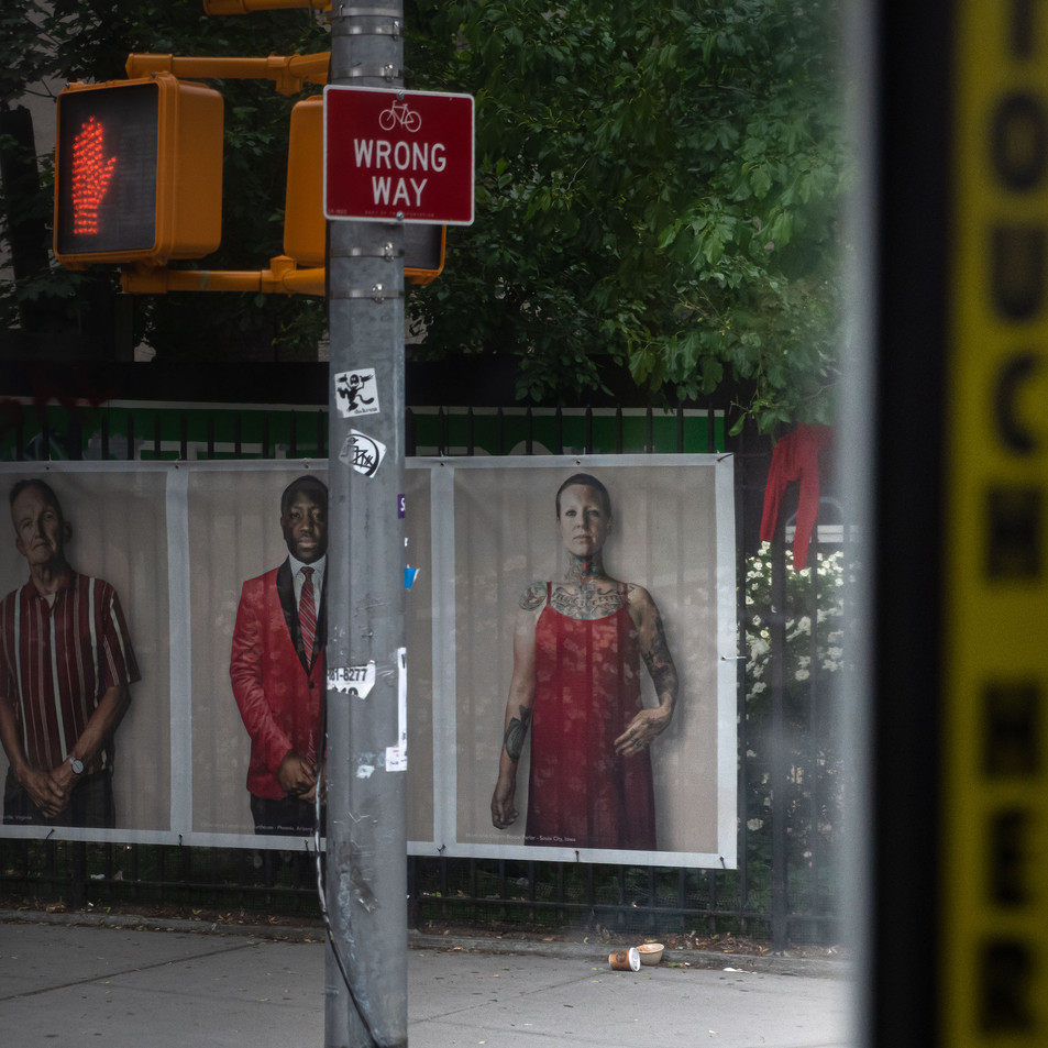 THREE CHARACTERS New York Intimate Limited Edition Photography