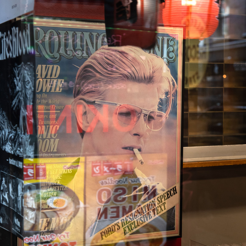 D.JONES BOWIE New York Intimate Limited Edition Photography