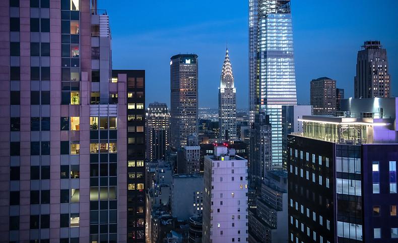 Chrysler Building in Dusk