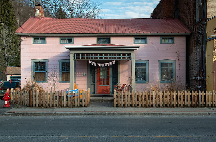 Pink House Rosendale