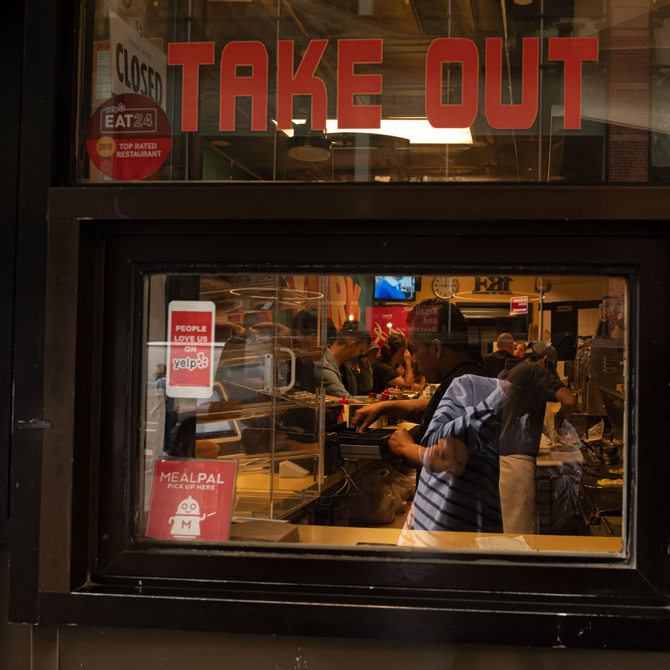 TAKE OUT New York Intimate Limited Edition Photography