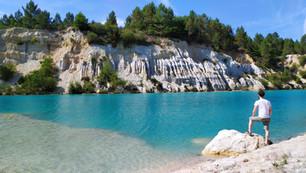 Les lagons bleu azur en Charente