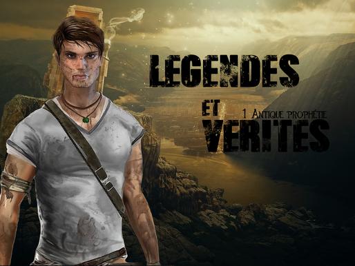 """Légendes et Vérités -tome 1- """"Antique prophétie"""". Chapitre 2 : la lettre."""