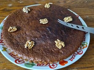Le gâteau aux noix / bananes Périgourdin