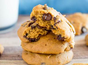 🍪 Cookies au potiron