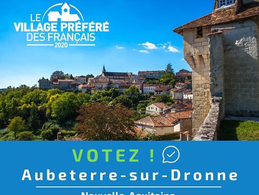 Le Village Préféré des Français 2020 : Aubeterre-sur-Dronne