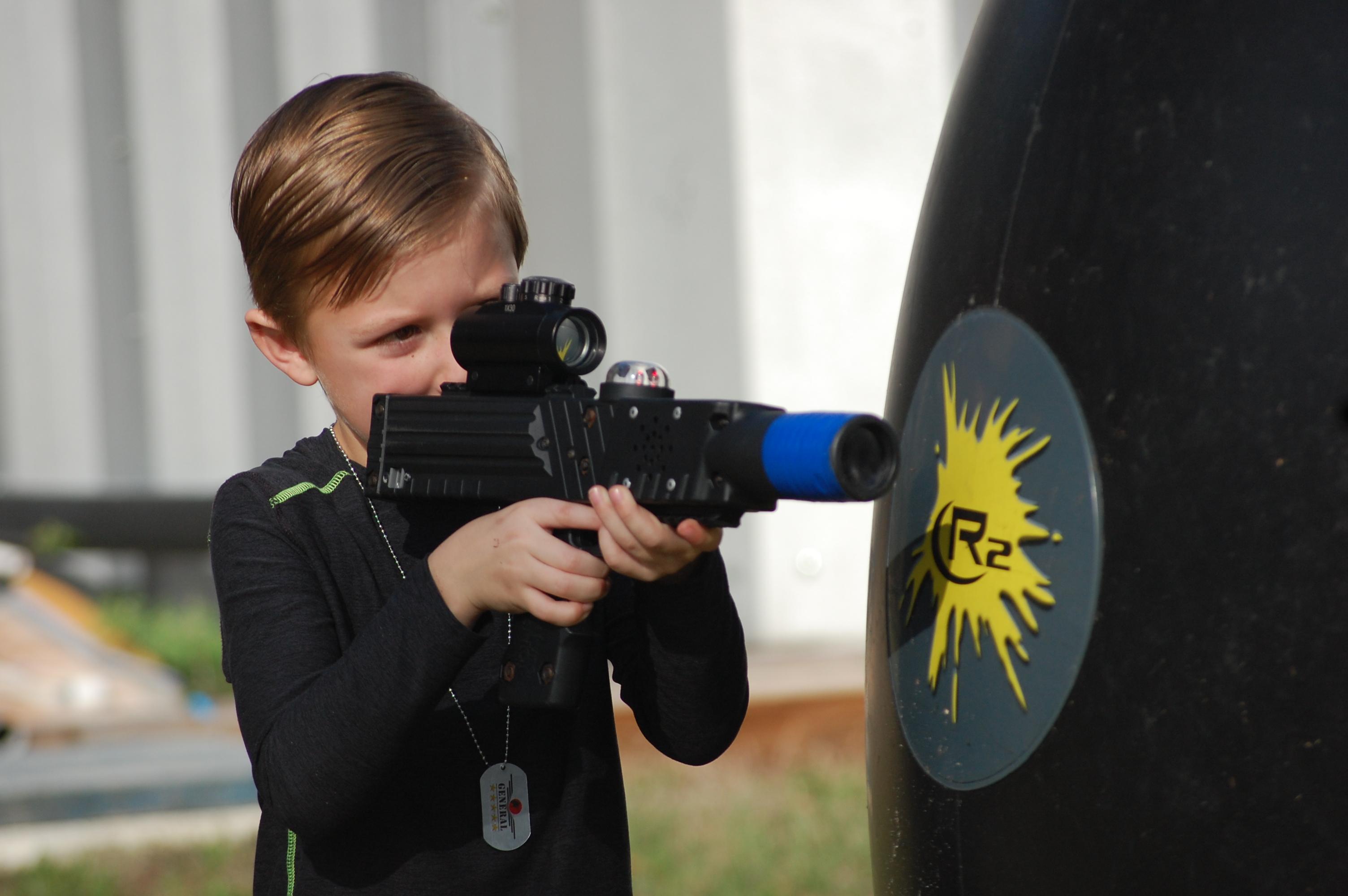Laser tag in Fish Hawk, FL