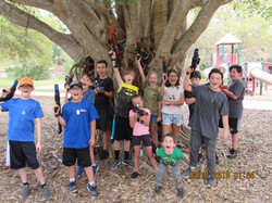 Outdoor laser tag in Fl