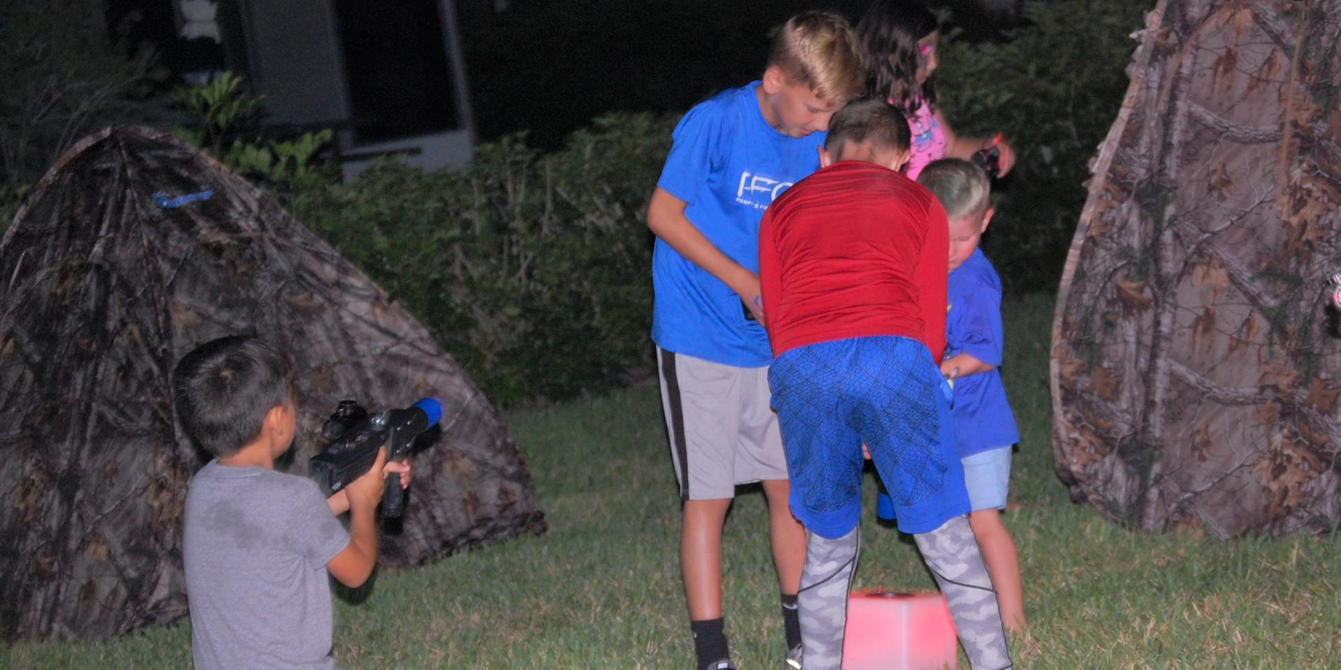 Laser Tag Parties in Osprey, FL