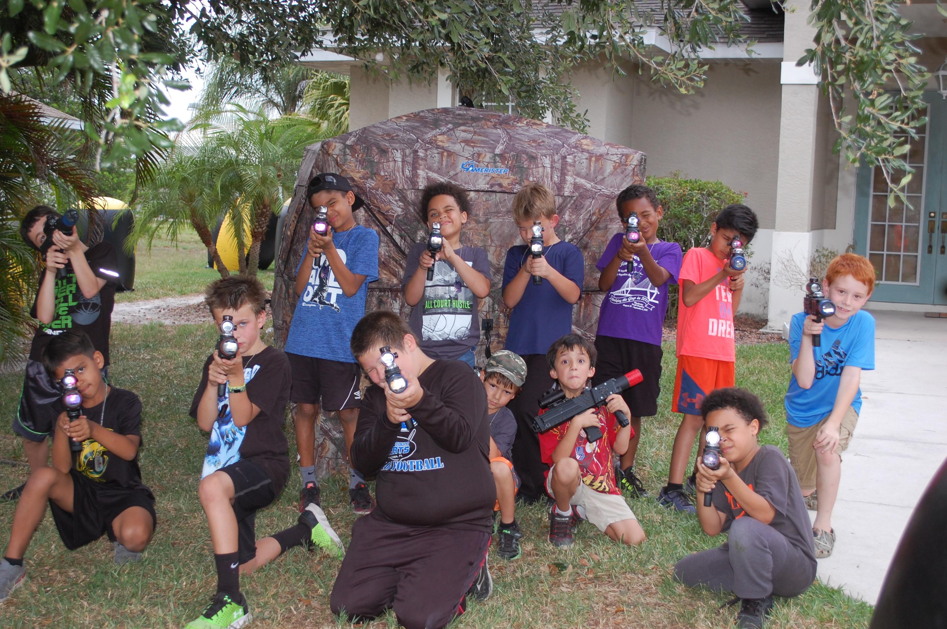 Fun birthday parties for boys in FL